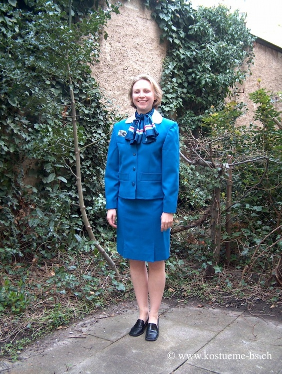 Stewardess Uniform KLM